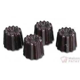 MOULES A CHOCOLAT : PLAQUE 40CANNELE 24X24MM SANS BPA