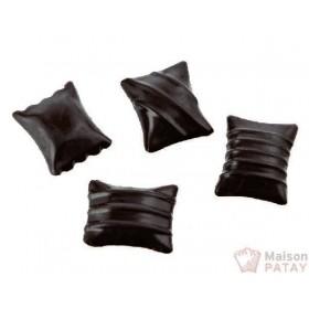 MOULES A CHOCOLAT : PLAQUE 12 RAVIOLIS CHOCO 35X30