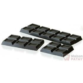 MOULES A CHOCOLAT : PLAQUE TABLISTER CHOCO 2X200G SANS BPA