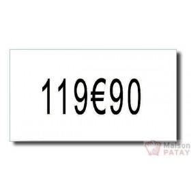 ETIQUETTAGE ET AFFICHAGE : 8 RLX 2500 ETIQUET. POUR 140950