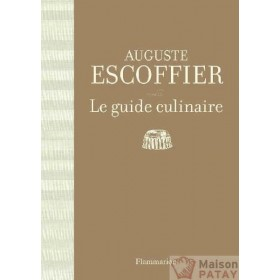 CUISINE : GUIDE CULINAIRE ESCOFFIER