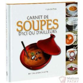 CUISINE : CARNET DE SOUPES - EDITIONS JV