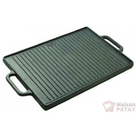 FONTE EMAILLEE : PLANCHA/GRILL FONTE 35X50 CM