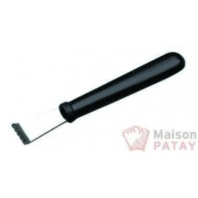 PETITS OUTILS : COUTEAU A ZESTER LAME INOX