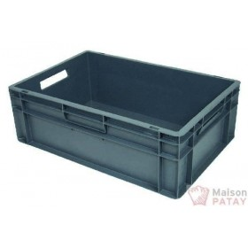 CASIERS DE LAVAGE : BAC GERBABLE 600X400X200 PLEIN
