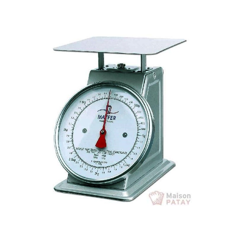 BALANCES : BALANCE MECANIQUE 10G 4 KG
