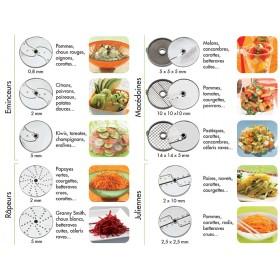 PACK DE DISQUES NUTRITION FRAICHEUR