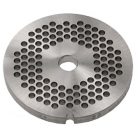 GRILLE INOX HACHOIR simple coupe ø 83 mm