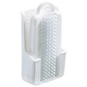 BROSSE A ONGLES AVEC SUPPORT