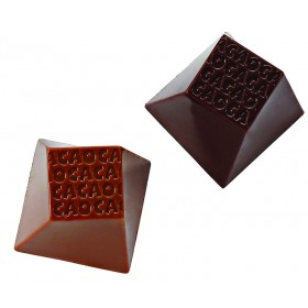 PLAQUE 35 CARRES CACAO 12G