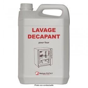 LAVAGE DECAPANT POUR FOUR - 5L