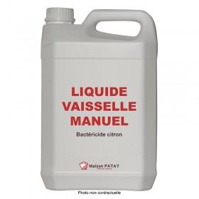 LIQUIDE VAISSELLE MANUEL BACTERICIDE CITRON - 5L