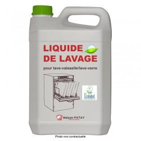 LIQUIDE LAVE-VAISSELLE/LAVE-VERRE - 5L