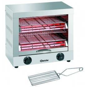 APPAREIL TOASTER/GRATINER - DOUBLE