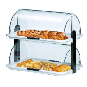VITRINE BUFFET DOUBLE - SYNTHETIQUE