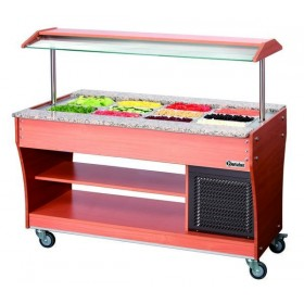 CHARIOT BUFFET - FROID - 4X1/1 GN