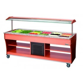 CHARIOT BUFFET - FROID - 6X 1/1 GN