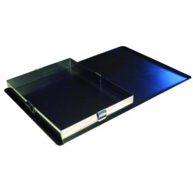 CADRE RECTANGLE EXTENSIBLE INOX 215X115MM H75