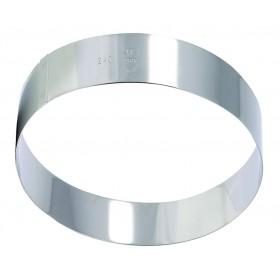 CERCLE MOUSSE INOX D100 H45