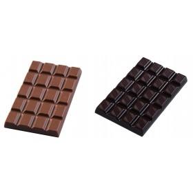 PLAQUE 4 MINI PLAQUES CHOCOLAT