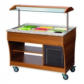 CHARIOT BUFFET - FROID - 3X1/1 GN
