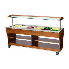 CHARIOT BUFFET - CHAUD - 6X1/1GN
