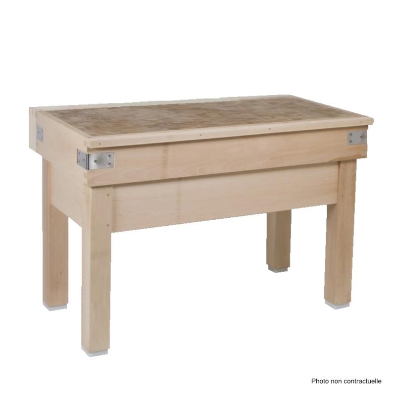 CONFIGUREZ VOTRE TABLE BILLOT BOIS